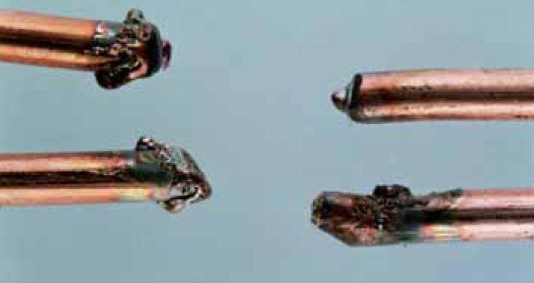 Badania metalograficzne śladów powstałych od zwarcia elektrycznego oraz interpretacja wyników