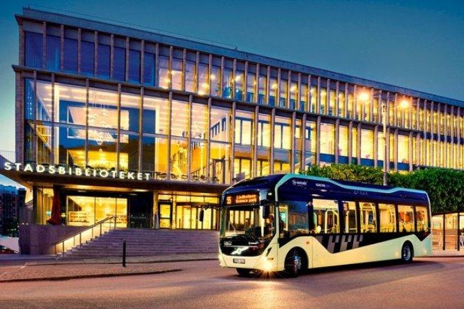 Elektryczne autobusy jako mobilne biblioteki