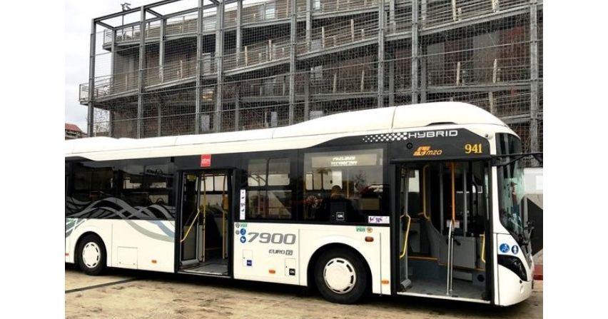 Autobusy hybrydowe w Koszalinie