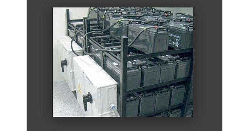 Baterie akumulatorów stosowanych w zasilaczach UPS oraz warunki ich bezpiecznej eksploatacji