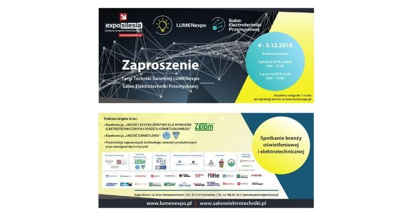 Spotkaj specjalistów z branży: targi, konferencje, prezentacje! na targach LUMENexpo