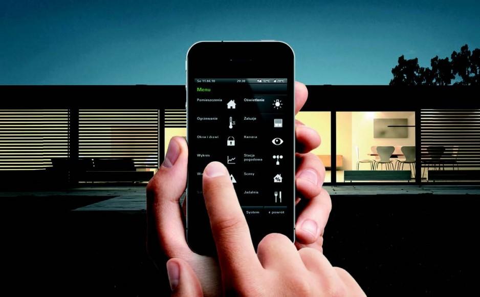 Mobilne sposoby sterowania winteligentnym budynku
