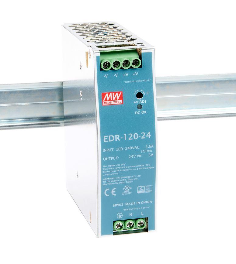 Zasilacz impulsowy EDR-120-24.