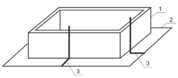 Uziomy fundamentowe kontenerowych stacji transformatorowych  w obudowie betonowej
