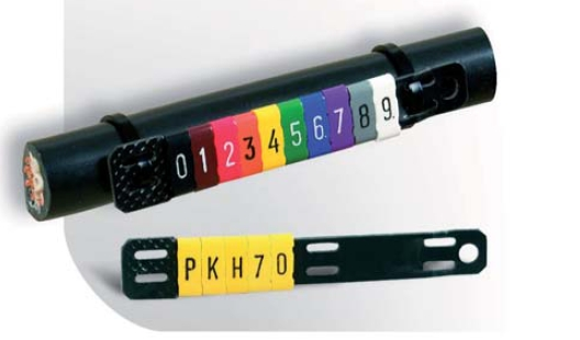 Elementy do oznaczania kabli i przewodów