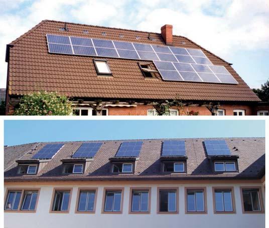 Ochrona odgromowa systemów fotowoltaicznych na dachach dwuspadowych