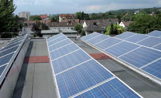 Ochrona odgromowa systemów fotowoltaicznych na rozległych dachach płaskich