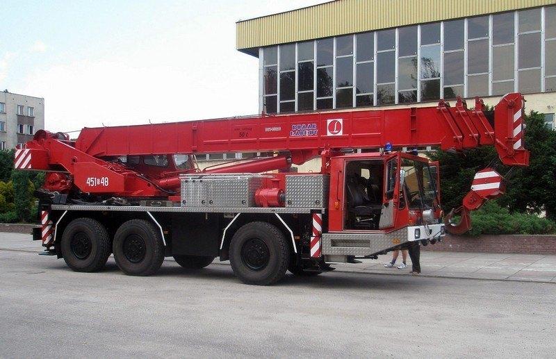Wymagania stawiane dźwigom przeznaczonym dla straży pożarnej