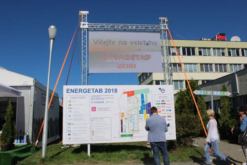 Targi  Energetab 2018 już rozpoczęte