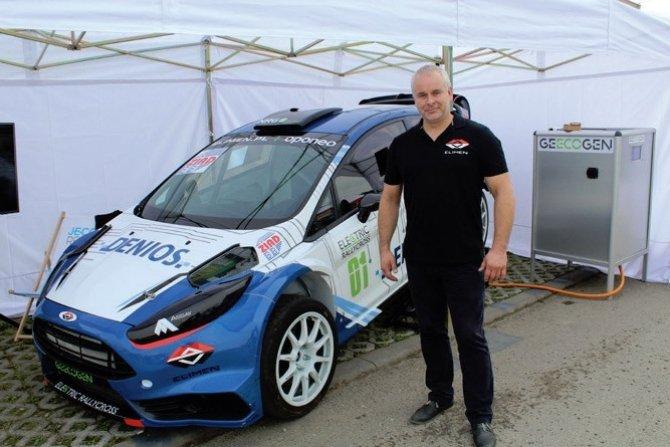 Prototyp elektrycznego pojazdu do rallycrossu na ENERGETABIE