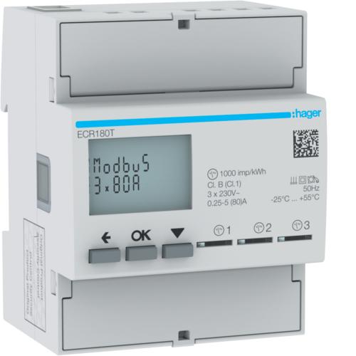 Liczniki zużycia energii elektrycznej ECR180T