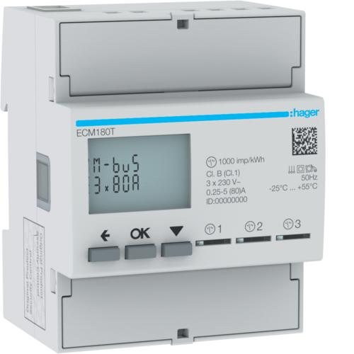 Liczniki zużycia energii elektrycznej ECM180T