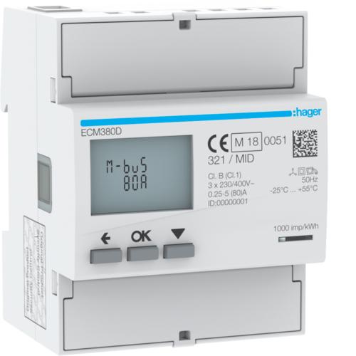 Liczniki zużycia energii elektrycznej ECM380D