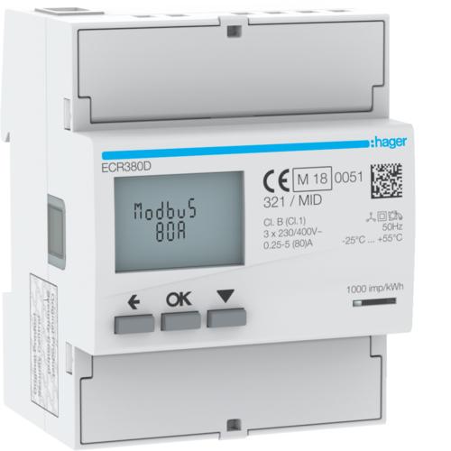 Liczniki zużycia energii elektrycznej ECR380D