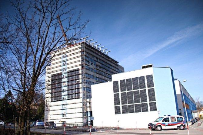 Szpital Śląski w Cieszynie wspierany przez instalację fotowoltaiczną