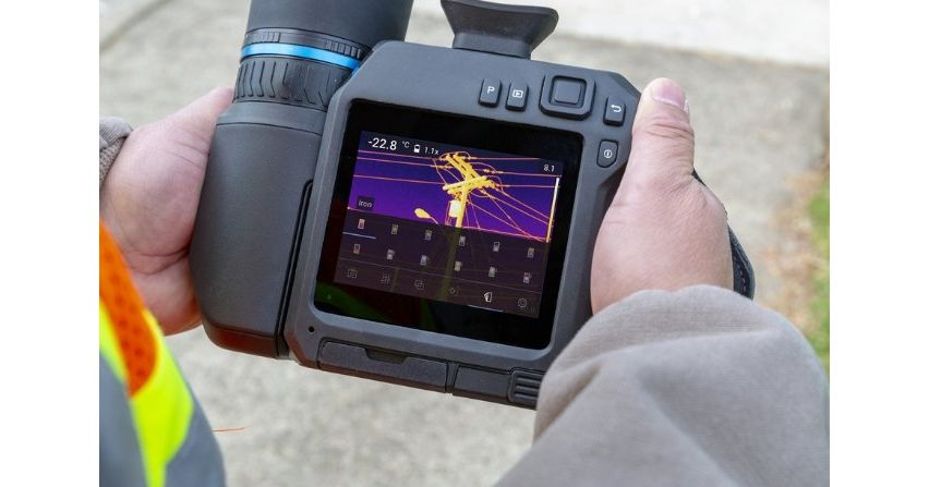 Nowa kamera termowizyjna FLIR T840