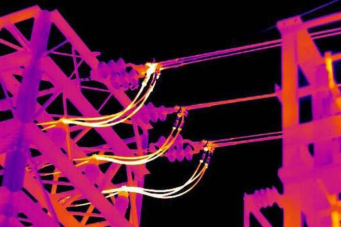 Zastosowanie biernej termografii do kontroli elementów sieci elektroenergetycznych