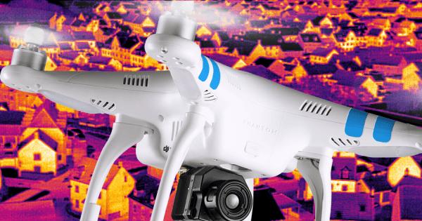 Kamery termowizyjne do dronów