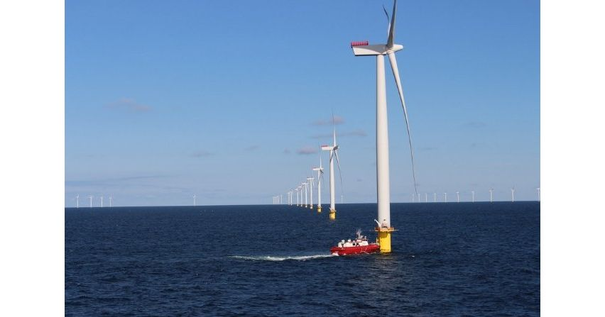 Już jest morska farma wiatrowa na Bałtyku