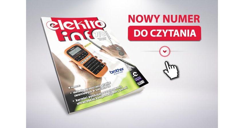 e-wydanie: elektro.info 7-8/2018