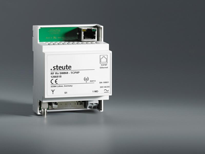 Odbiornik radiowy z bramą TCP/IP i odbiornik USB