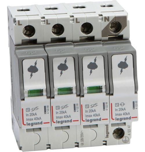 Ograniczniki przepięć typu 2 ON T2-40-3P+N