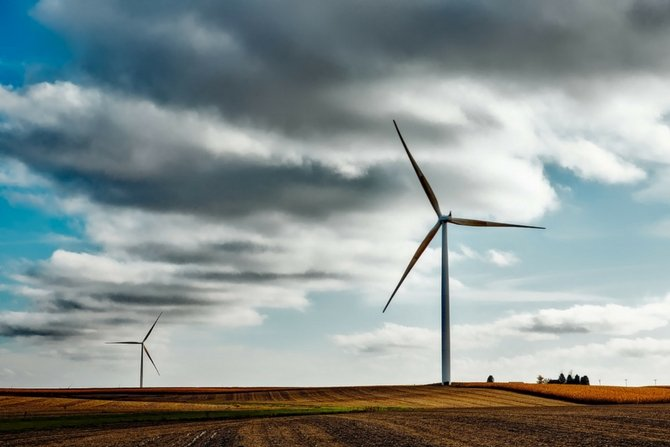 Polenergia odnotowała rekordową produkcję farm wiatrowych