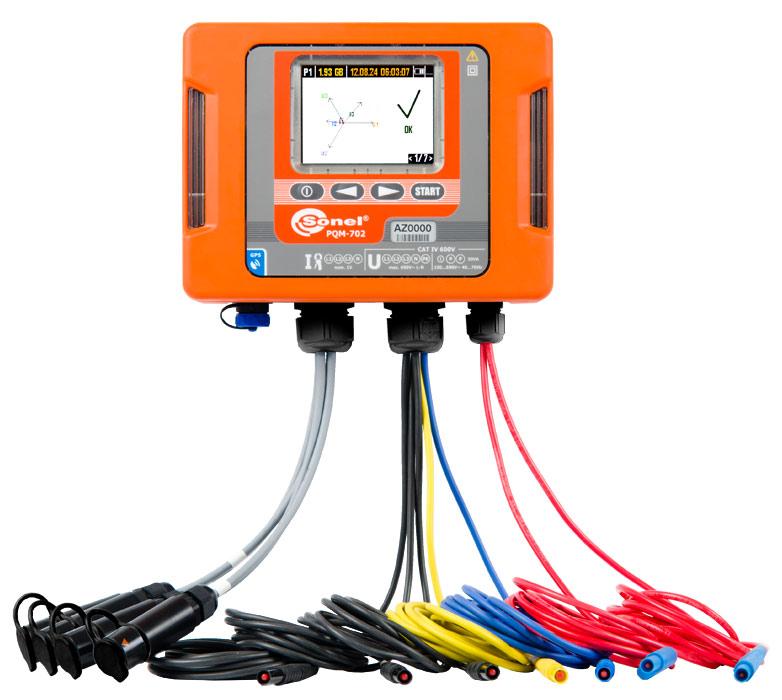 Analizator jakości zasilania PQM-702