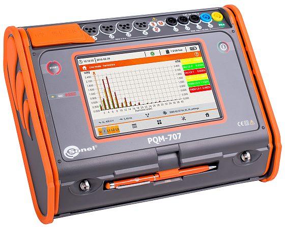 Analizator jakości zasilania PQM-707