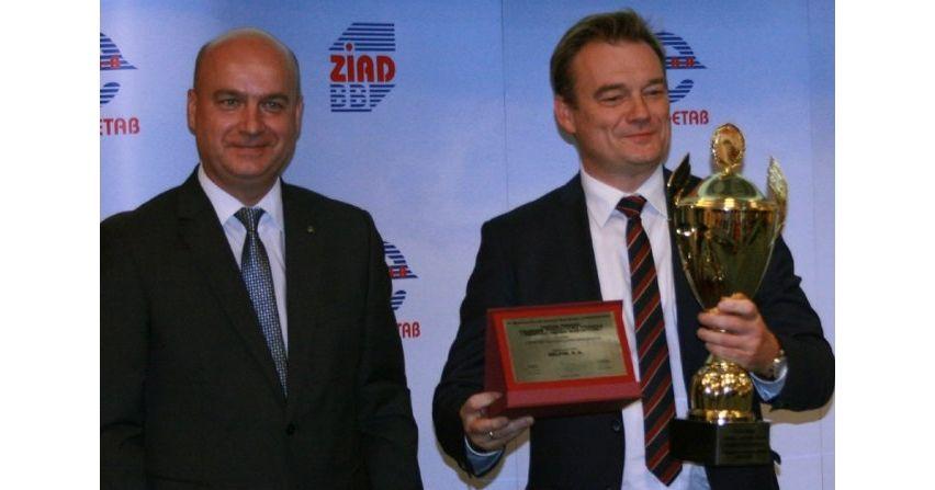 Sterownik polowy CZIP®-PRO Relpol otrzymał Puchar Prezesa Polskiego Towarzystwa Przesyłu i Rozdziału Energii Elektrycznej