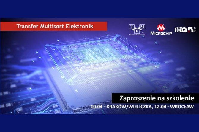 Zaproszenie na szkolenie organizowane przez TME, Microchip i IQRF TECH