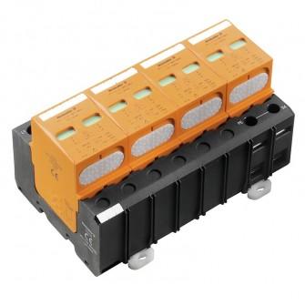 """Kombinowany ogranicznik przepięć typu 1 (""""1+2"""") VPU I 4 R LCF 280V/25KA. Zobacz szczegóły."""