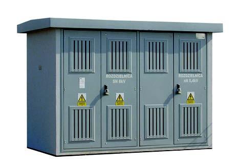 Prefabrykowana stacja transformatorowa typu Mzb1