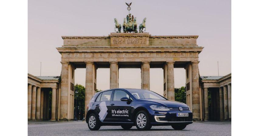Car sharing od Volkswagen w Berlinie