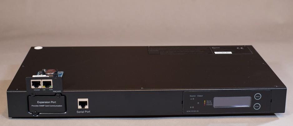 Galeria ATS – inteligentny, automatyczny przełącznik zasilania dla zasilaczy UPS do zastosowań teleinformatycznych