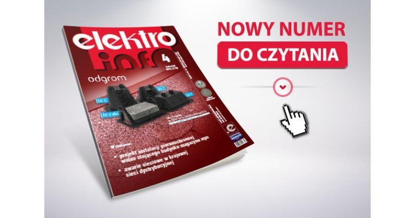 e-wydanie: elektro.info 4/2019