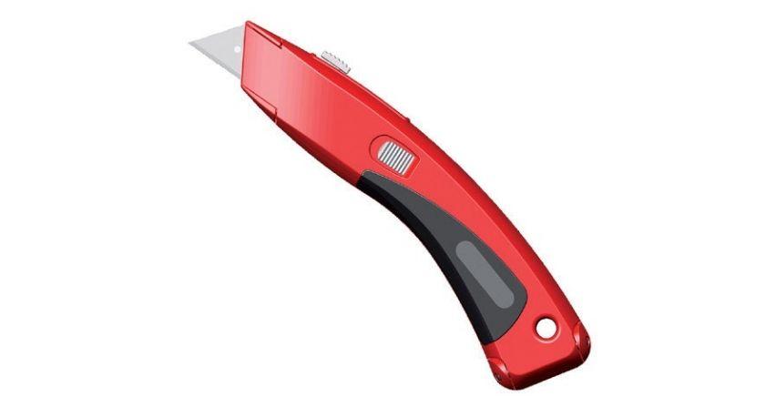 Nóż BIKO z wysuwanym ostrzem trapezowym, firmy Montero
