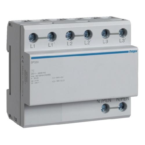 Ogranicznik przepięć typu 1 SP320