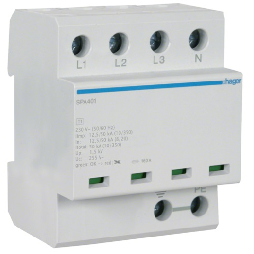Ogranicznik przepięć typu 1 SPA401