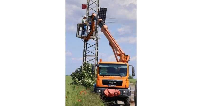 Ponad 200 stacji pomiarowych na liniach energetycznych TAURONA