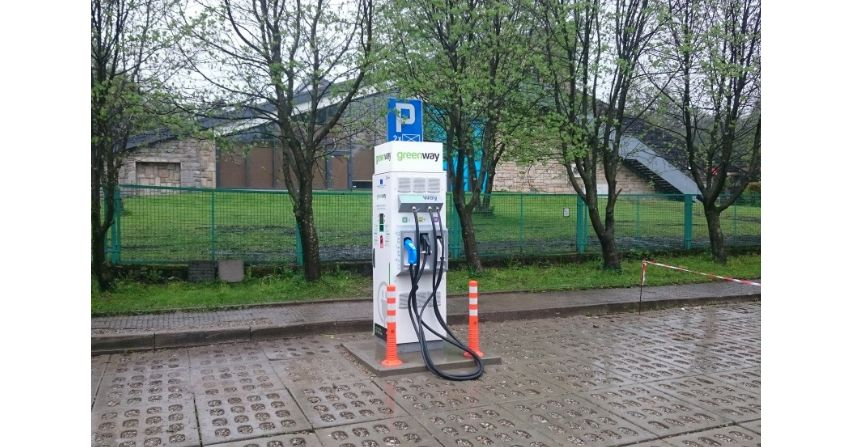 Stacje ładowania pojazdów elektrycznych w Tatrzańskim Parku Narodowym