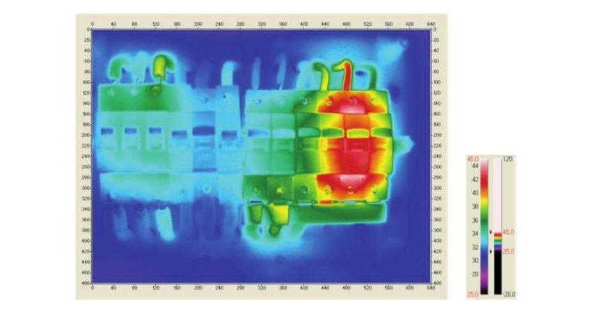 Galeria Zastosowanie kamer termowizyjnych do oceny wykonania instalacji elektrycznej