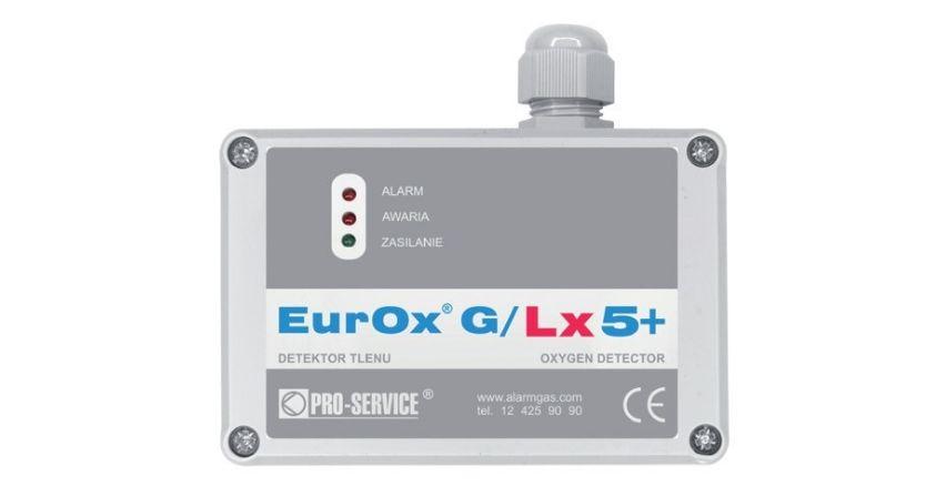 "Detektory Tlenu ""EurOx G/Lx5+"" od Pro-Service"