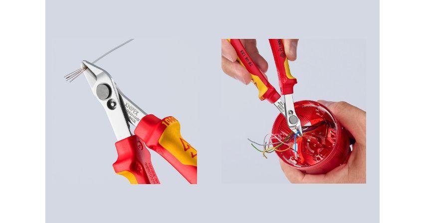 Izolowane szczypce Knipex 78 06 125 VDE