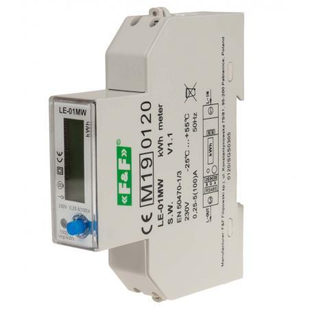 Liczniki energii elektrycznej LE-01MW