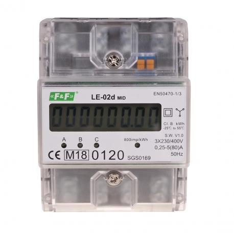 Licznik energii elektrycznej LE-02d