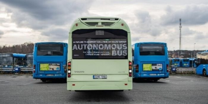 Elektryczny autobus autonomiczny od Volvo