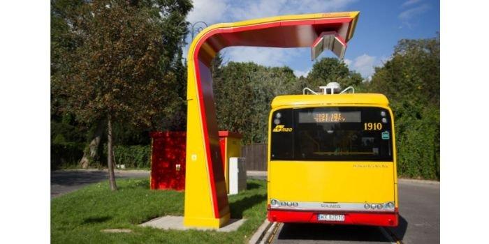 Stacje ładowania autobusów elektrycznych w Warszawie