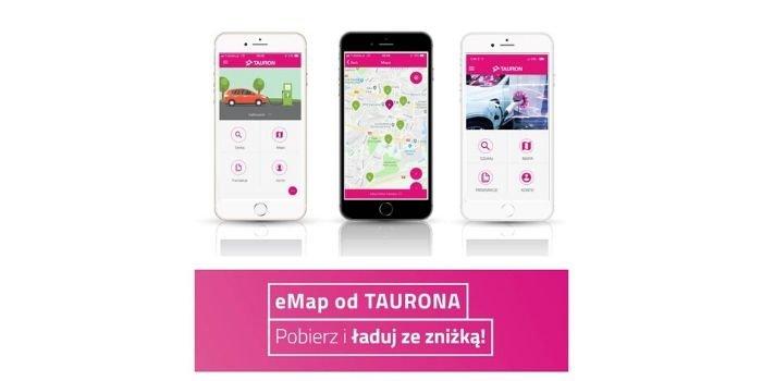 eMap – mapa dla samochodów elektrycznych