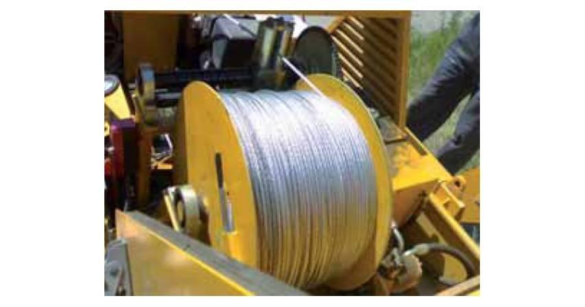 Budowa linii kablowych WN